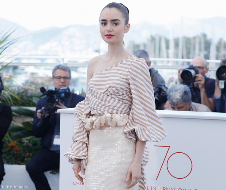 6. Lily Collins