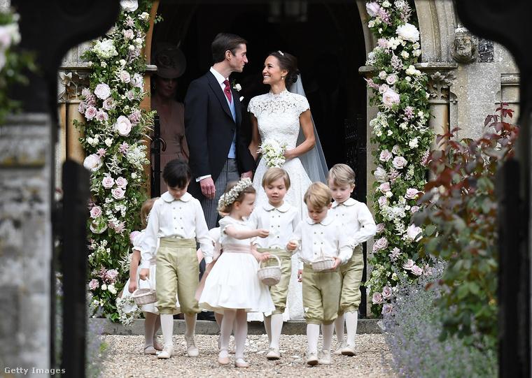 Talán a következő királyi ház közeli esküvőn, már Pippa Middleton gyerekei is ott lesznek.