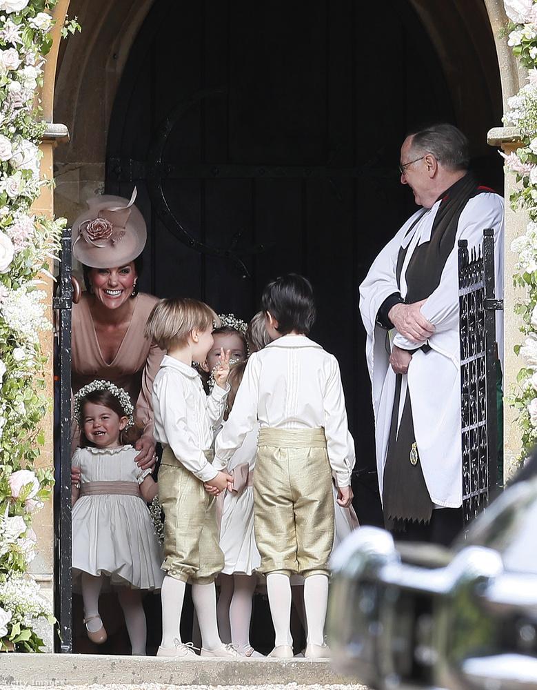 Sarolta hercegnő - aki nemrég ünnepelte második születésnapját - fontos feladatot kapott.