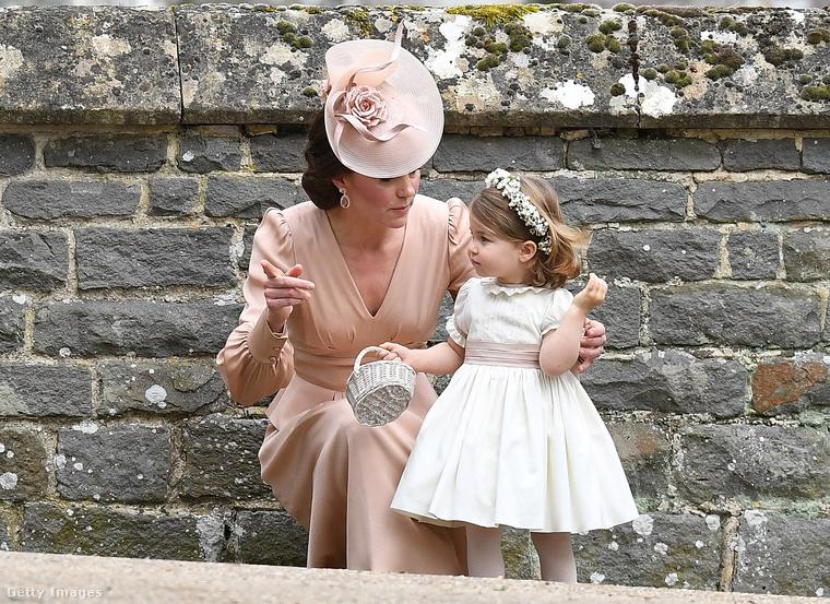 Így instruálta őt Katalin hercegné.