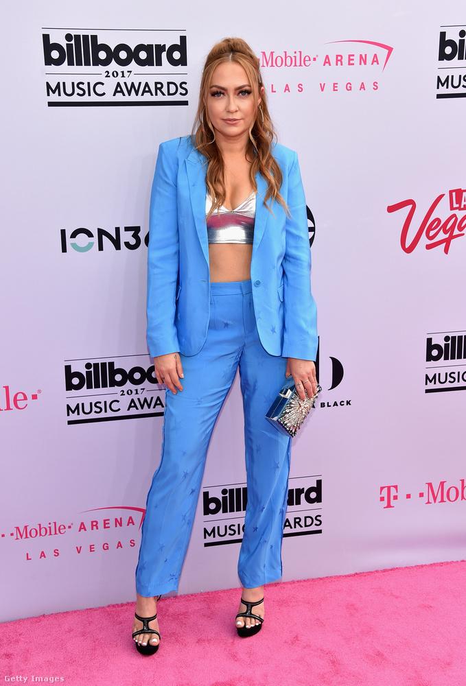Jelen volt a Cyrus klán egy másik tagja is, Brandi Cyrus