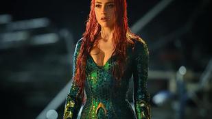 Amber Heard már az Aquaman forgatásának első napján vizes dekoltázzsal szexizik