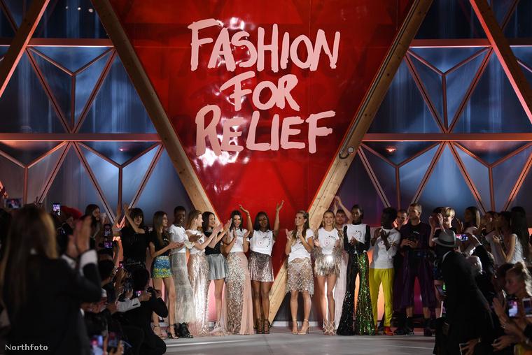 Cannes-ban még a jótékonysági eseményeket is úgy kell elképzelni, mint a május 21-én tartott Fashion For Relief Show-t: jobbnál jobb modellnők hemzsegnek a kifutón, ami igen jót tesz a szemnek