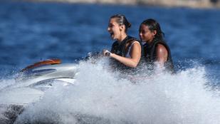 Bella Hadid jetskizni ment Cannes-ba