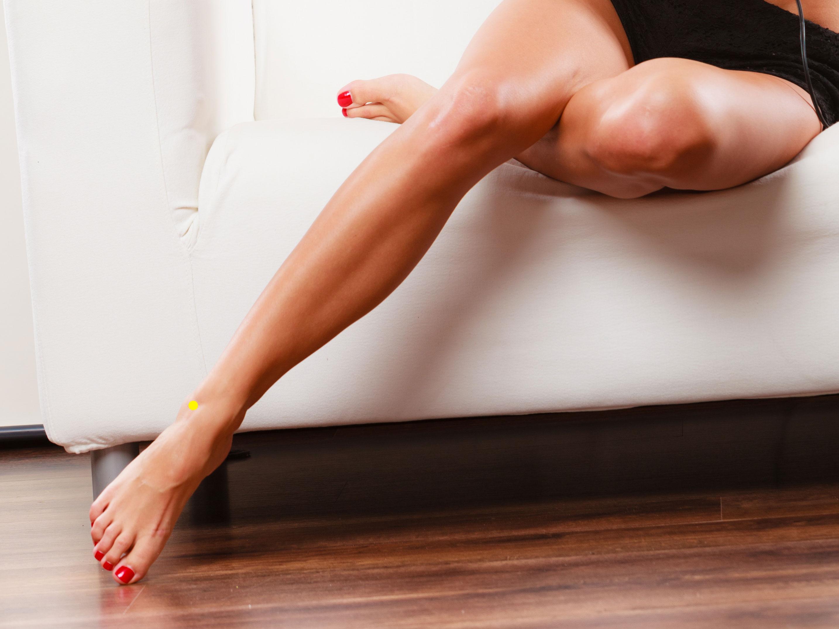 anyajegy a lábán