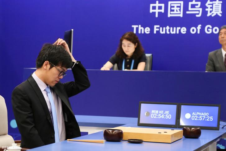 Ko Csie az AlphaGo ellen