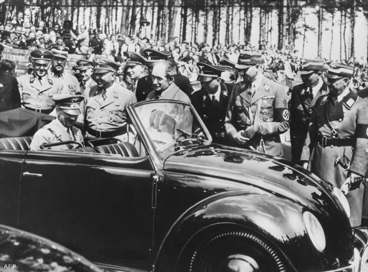 """Hitler és a """"népautó"""""""