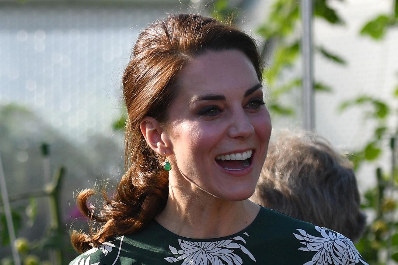 accca27505 Katalin hercegné így tündökölt a virágkiállításon - Méregzöld ruhában  keltett feltűnést