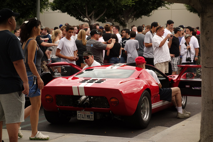 Van-e jobb hang a GT40-esénél?