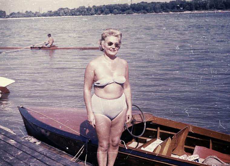1964-ben a Római Parton.