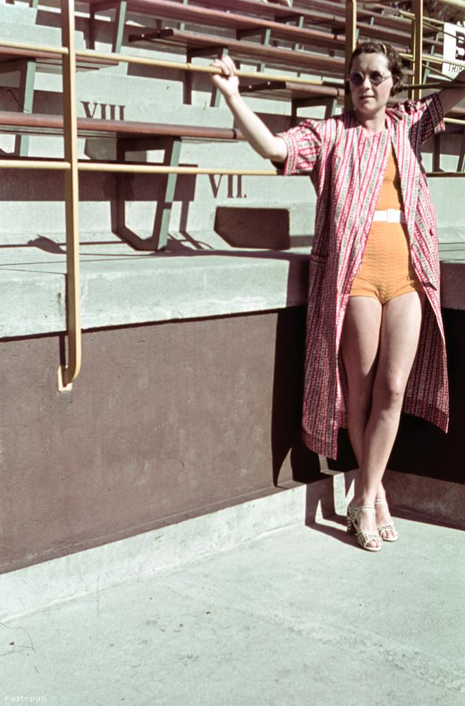 Igazi időutazás!1938-ban a Hajós Alfréd uszodában így telt az idő.