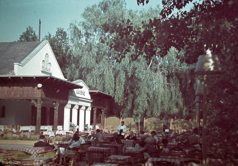 Máriaremetén egy nagyon hangulatos kertvendéglő, a Kisboldogasszony-templom mellett.Ide azért visszautaznánk az időben egy fröccsre - vagy kettőre.Olvasónktól tudjuk, hogy a hangulatos étterem ma is megvan a  Szent József utca, Máriaremetei út és Zuzmó utca által határolt telken, és a Kolozsvár Utcai Óvoda Máriaremetei úti Tagóvodája működik benne.
