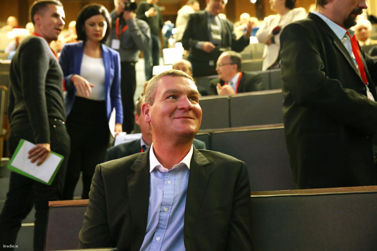 Botka László az MSZP kongresszusán