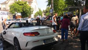 Még mindig nem tudták kihallgatni a Dózsa György úton balesetet szenvedett Citroën sofőrjét