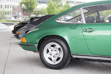 Elképesztően filigrán autó az eredeti 911-es
