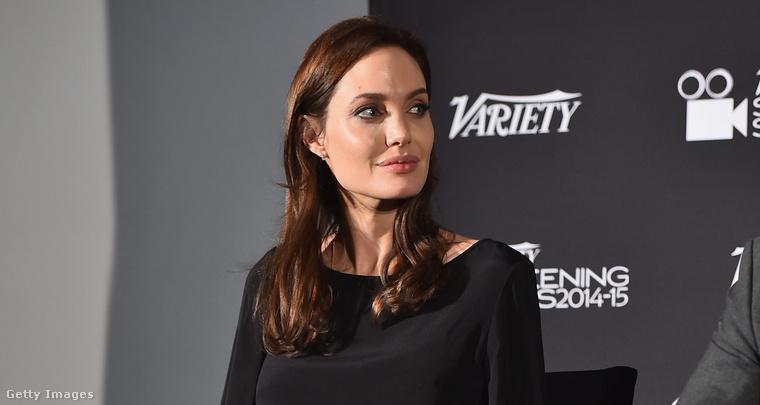 ...amiben azt mondta Angelina Jolie-ra, hogy nem túl tehetséges, viszont el van kényeztetve.