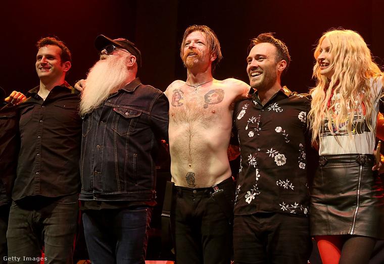 Az Eagles of Death Metal együttes idén májusban.