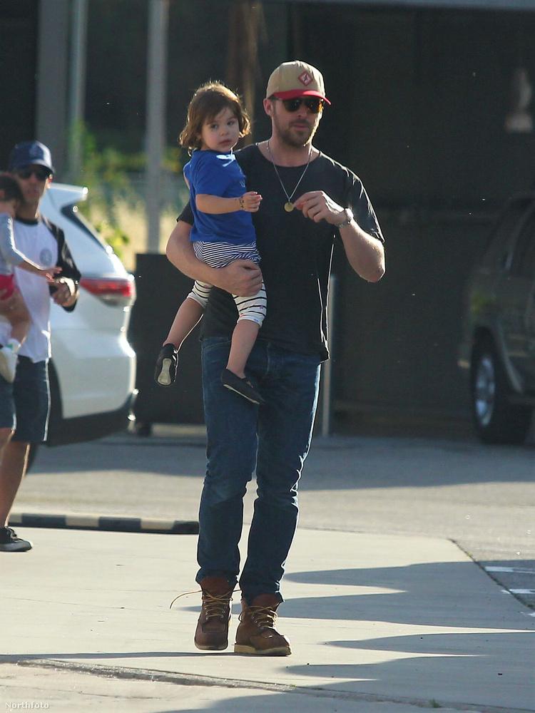 Második gyerekük Amanda Lee Gosling tavaly született