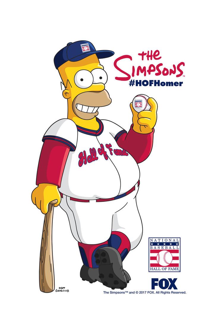 TheSimpsons HOF BaseballTowel R4 (002)