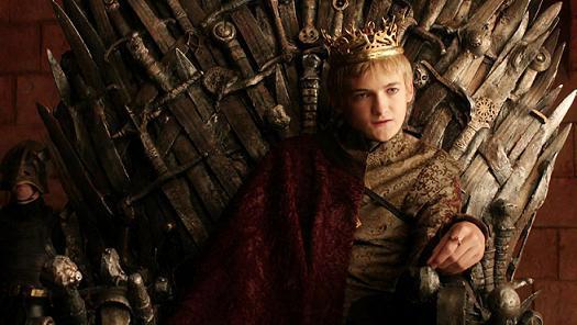 A Trónok harca legbrutálisabb, szadista karaktere, Joffrey Baratheon.