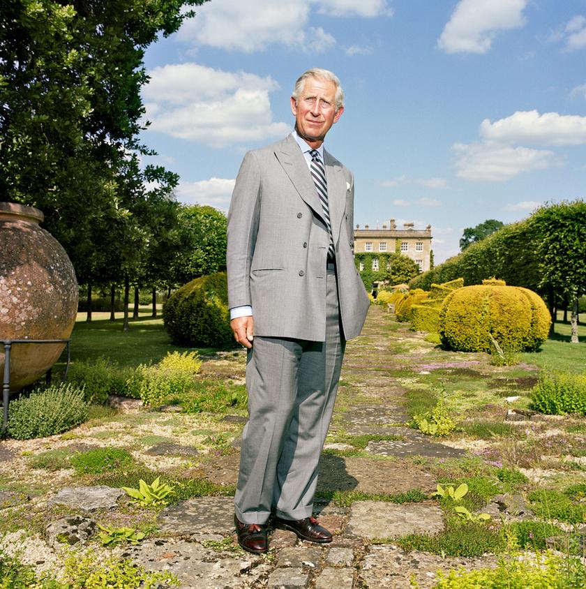 Károly herceg szerint a kert egységes ökoszisztéma, ahol mindennek megvan a szerepe és feladata, legyen szó akár csak a gyomokról.