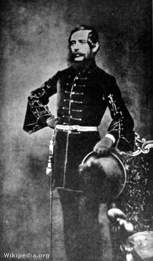 Kossuth Lajos, Bostonban, 1851-ben.