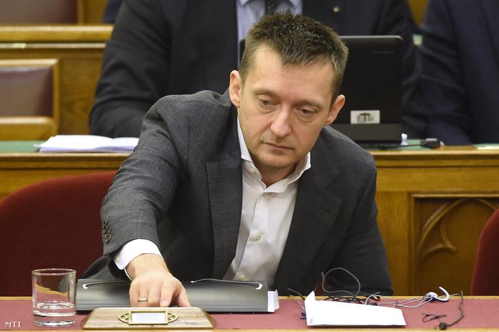 Rogán Antal a parlamentben
