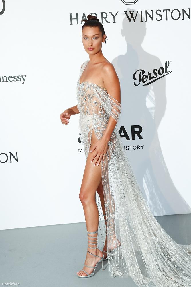 Felmerült a kérdés a divatértők köreiben, hogy az átlátszó ruhák őrületét lehet-e fokozni? Bella Hadid a Cannes-i amfAR gálás ruhájával megadta a választ:Lehet!