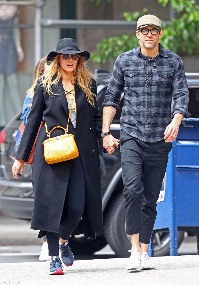 Blake Lively és Ryan Reynolds szintén New Yorkban sétafikált