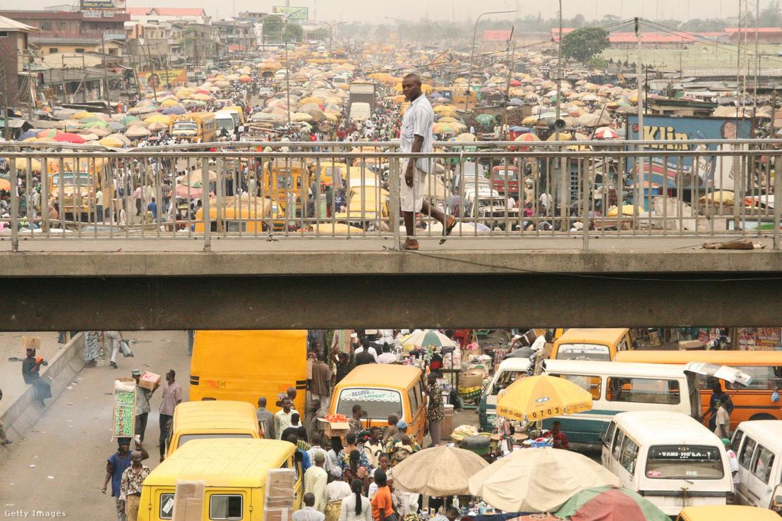 Nigéria lakossága 187 millió mellyel Afrika legnépesebb országa.