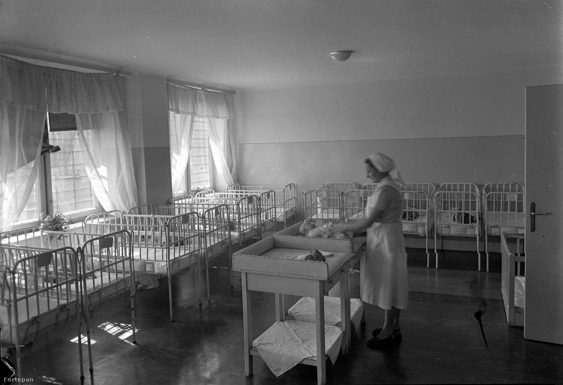 Csecsemő osztály a Ratkó-korszakban
