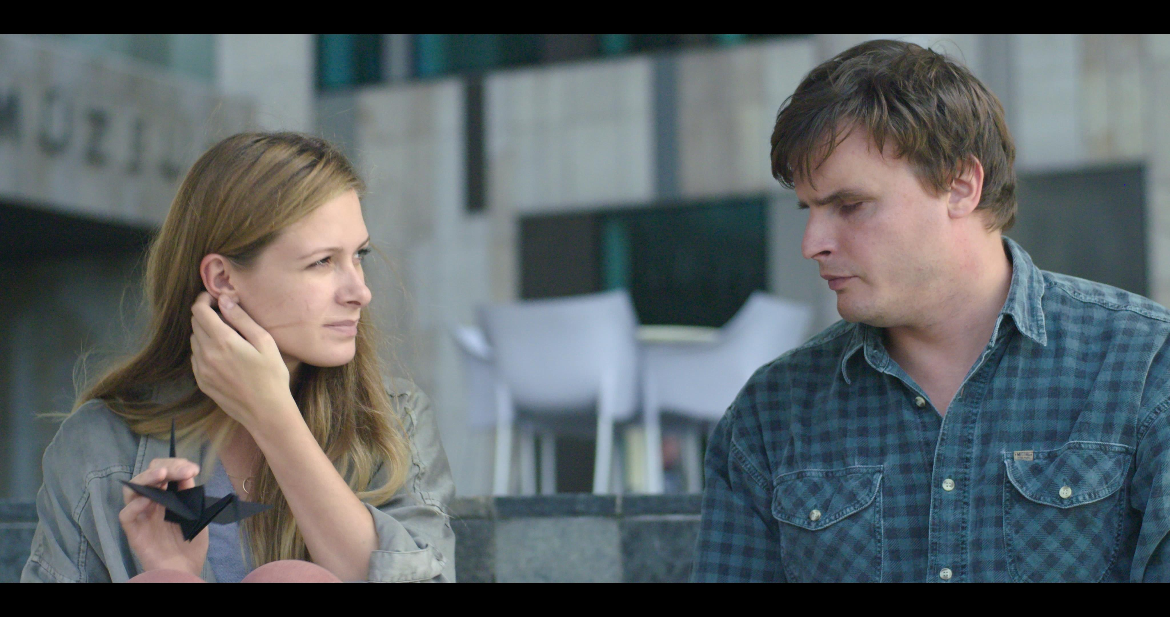 A film főszereplői, Józsa Bettina és Barkó Tamás