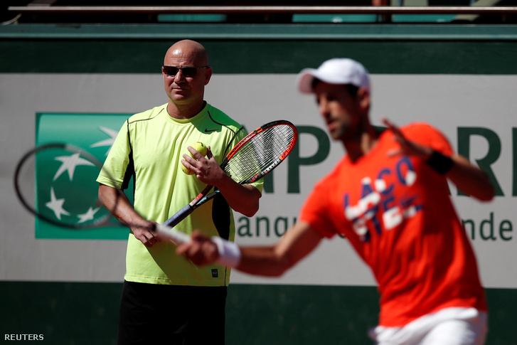 Agassi és Djokovics
