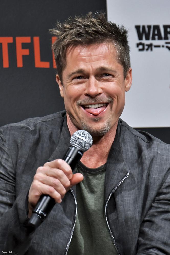 És az megvolt a héten, hogy Brad Pitt váratlanul fagyinak nézett egy mikrofont? Ha nem, itt a lehetőség bepótolni az elmaradást