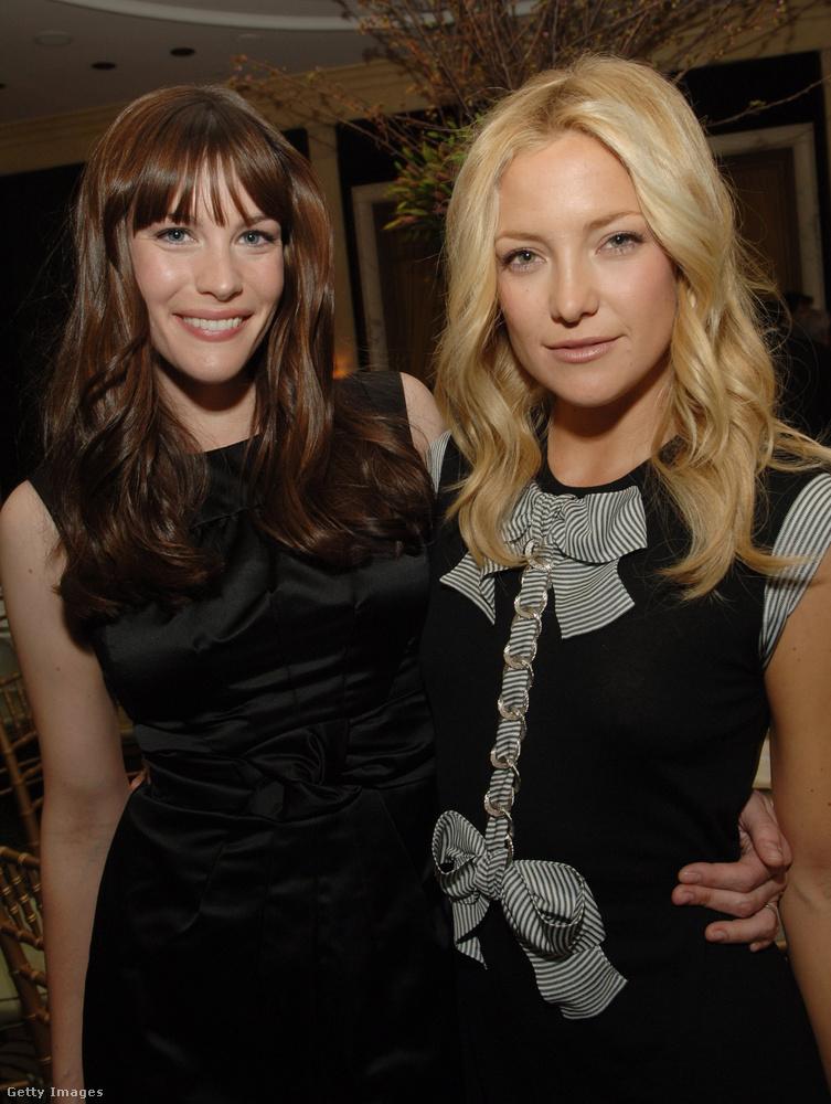 Ráadásul az Aerosmith énekesének lánya lett Kate Hudson első gyermekének keresztanyja