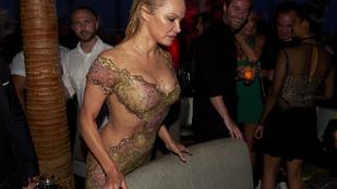 Pamela Anderson mellben erős hétvégéje sokkolóba váltott
