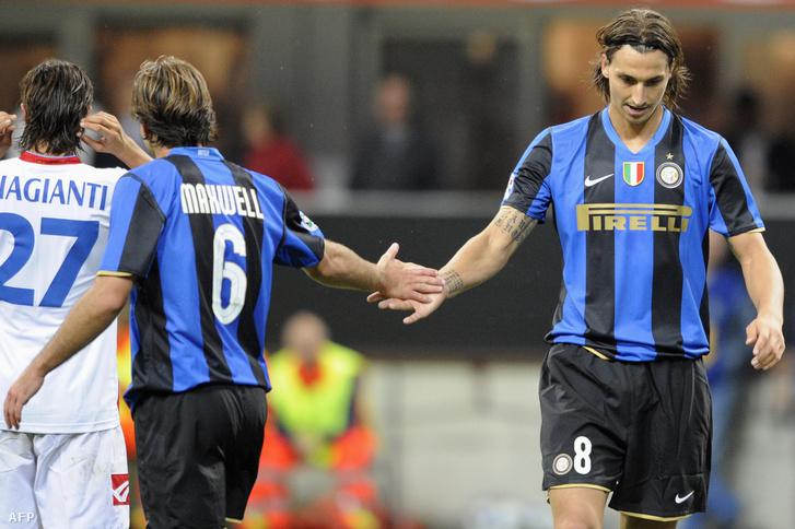 Maxwell és Ibrahimovic, 2001 óta (szinte) elválaszthatatlan páros
