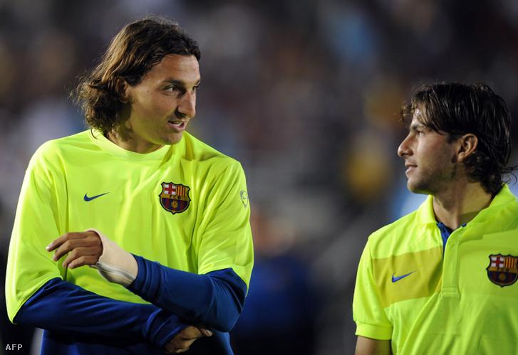 Csak sikerült végül a Barcelonába is együtt menniük
