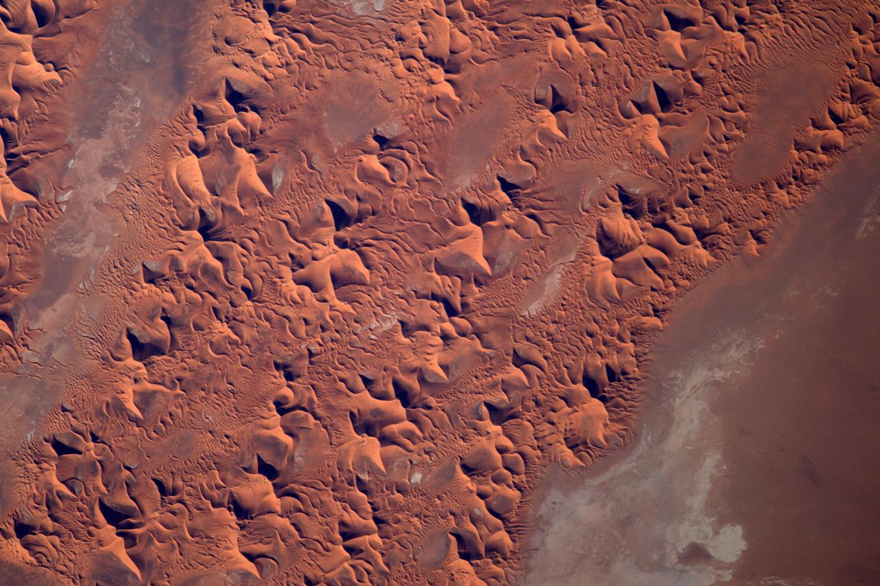 Homokdűnék a Szaharában.