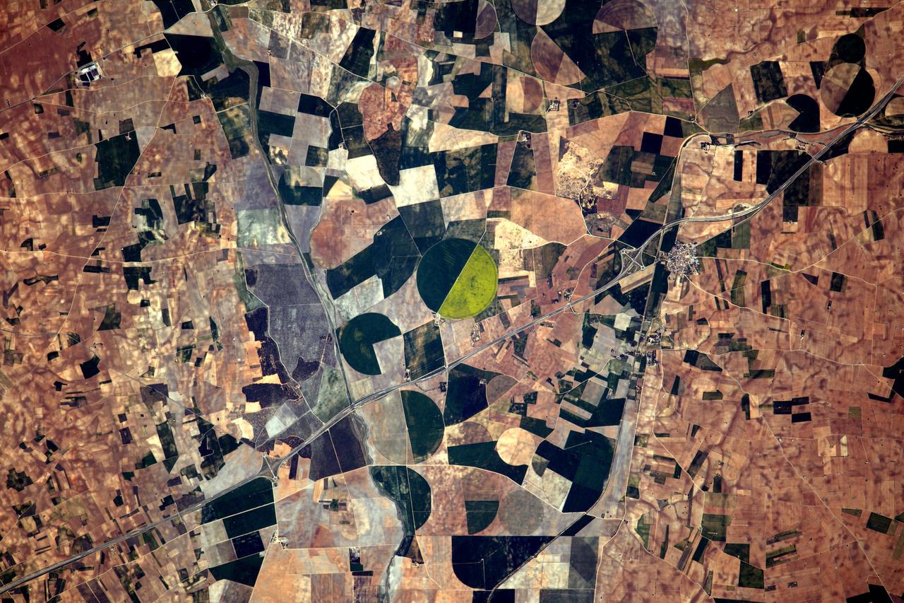Spanyol mezőgazdasági táj