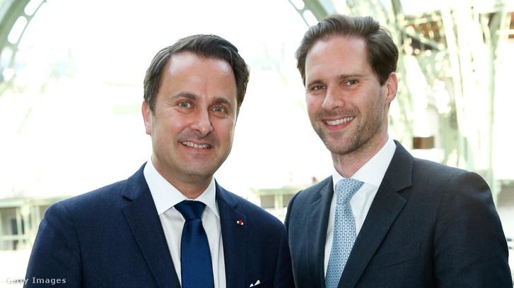 Xavier Bettel és Gauthier Destenay
