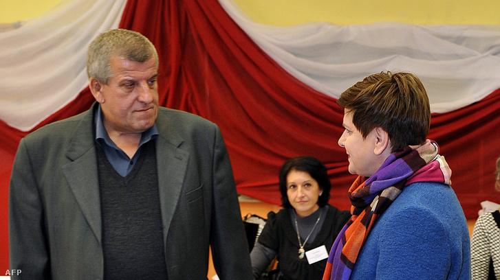 Edward Szydło és Beata Szydło