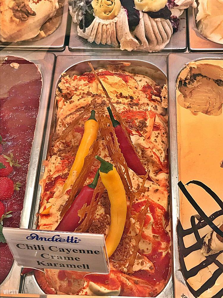 Voltak a megszokott ízektől merészen eltérő megoldások.A különféle chilik használata nagyon népszerű volt az idei versenyben.