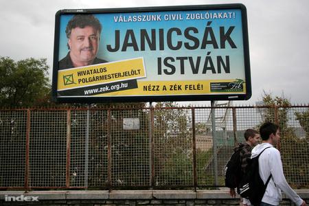 Janicsák István plakátja