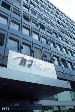 Az Állami Vagyonügynökség ( ÁVÜ ) székháza