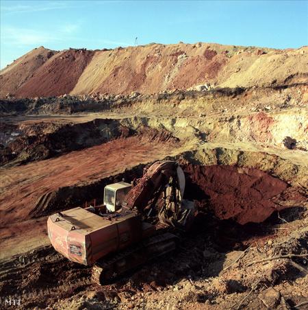 A Bakonyi bauxitbánya iharkúti üzeme