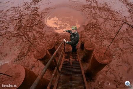 Bakonyi Zoltán vezérigazgató egy lépésre a vörösiszaptól