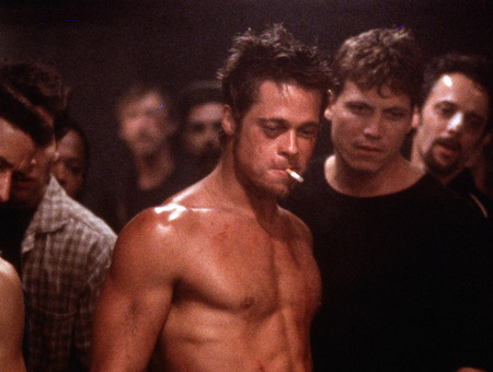 Brad Pitt a Harcosok klubjában