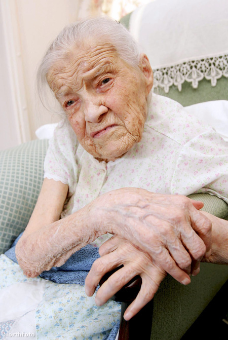 Clara Meadmore 107 évesen