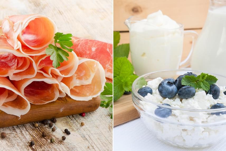 Növeld a fehérjebevitelt - és csökkents a szénhidrátfogyasztást! Iktass be a nap folyamán olyan magas fehérjetartalmú táplálékokat, mint a különböző - nem túl zsíros - húsfélék, túró, natúr joghurtok! Mutatunk még pár tippet!